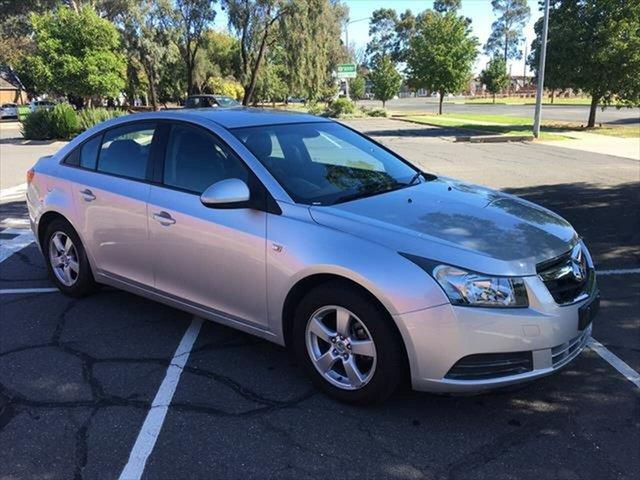 Used Holden Cruze JG CD Yarrawonga, 2011 Holden Cruze JG CD Silver 5 Speed Manual Sedan