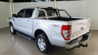 2017 Ford Ranger PX MkII XLT Double Cab Silver, Chrome 6 Speed Sports Automatic Utility.