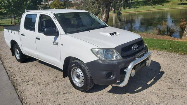 Used Toyota Hilux KUN16R MY09 SR 4x2 Wodonga, 2009 Toyota Hilux KUN16R MY09 SR 4x2 White 5 Speed Manual Utility