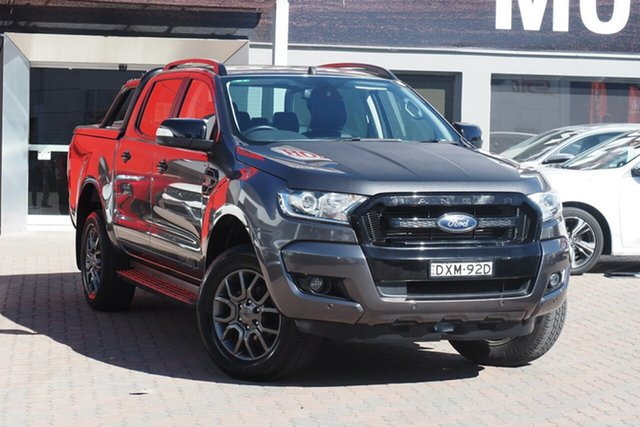 Used Ford Ranger PX MkII 2018.00MY FX4 Double Cab Parramatta, 2018 Ford Ranger PX MkII 2018.00MY FX4 Double Cab Grey 6 Speed Sports Automatic Utility