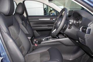 2021 Mazda CX-5 KF4WLA Touring SKYACTIV-Drive i-ACTIV AWD Eternal Blue 6 Speed Sports Automatic