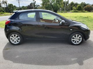 2011 Mazda 2 DE Series 2 Maxx Black Automatic Hatchback.