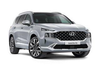 2020 Hyundai Santa Fe Tm.v3 MY21 Highlander Silver 8 Speed Sports Automatic Wagon