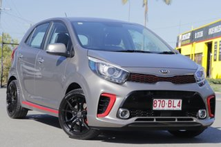 2019 Kia Picanto JA MY20 GT Titanium Silver 5 Speed Manual Hatchback.