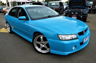 2005 Holden Commodore VZ SV6 Blue 5 Speed Sports Automatic Sedan.