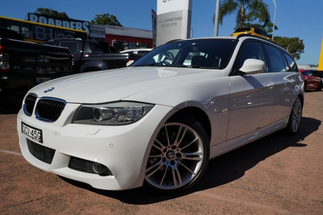 Used BMW 320d E91 MY11 Touring Lifestyle Brookvale, 2011 BMW 320d E91 MY11 Touring Lifestyle White 6 Speed Auto Steptronic Wagon