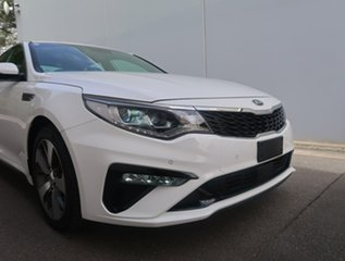 2019 Kia Optima JF MY20 GT White 6 Speed Sports Automatic Sedan