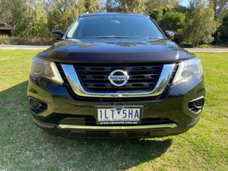 2017 Nissan Pathfinder R52 Series II MY17 ST X-tronic 2WD Black 1 Speed Constant Variable Wagon.