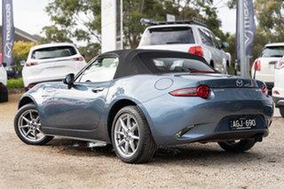 2015 Mazda MX-5 ND SKYACTIV-MT Blue Reflex 6 Speed Manual Roadster.