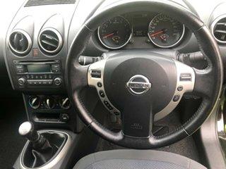 2012 Nissan Dualis J10W Series 3 MY12 ST Hatch 2WD Black 6 Speed Manual Hatchback