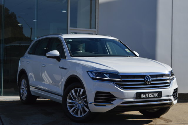 Demo Volkswagen Touareg CR MY21 170TDI Tiptronic 4MOTION Maitland, 2021 Volkswagen Touareg CR MY21 170TDI Tiptronic 4MOTION 0q0q 8 Speed Sports Automatic Wagon