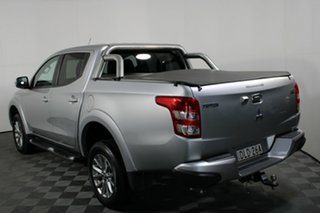 2016 Mitsubishi Triton MQ MY16 GLS Double Cab Sterling Silver 6 Speed Manual Utility
