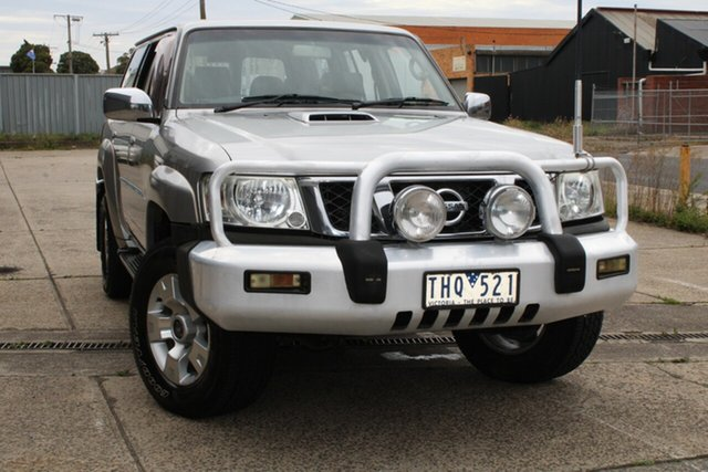 Used Nissan Patrol GU IV ST (4x4) West Footscray, 2005 Nissan Patrol GU IV ST (4x4) 4 Speed Automatic Wagon