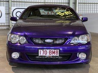 2004 Ford Falcon BA XR6 Ute Super Cab Purple 5 Speed Manual Utility
