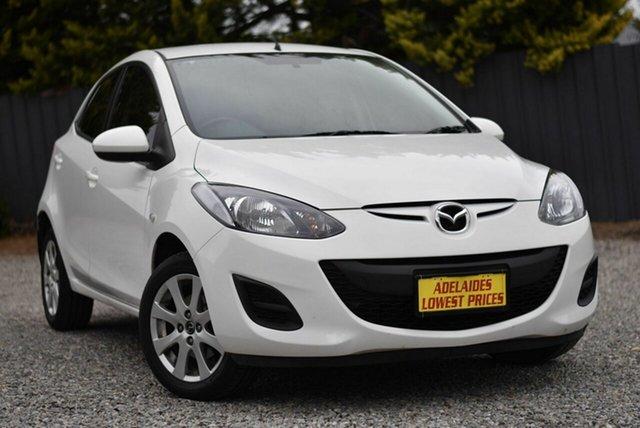 Used Mazda 2 DE10Y2 MY14 Neo Sport Morphett Vale, 2014 Mazda 2 DE10Y2 MY14 Neo Sport White 4 Speed Automatic Hatchback