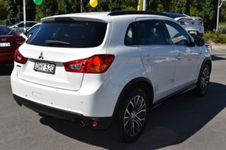 2016 Mitsubishi ASX XC MY17 XLS 2WD White 6 Speed Constant Variable Wagon.