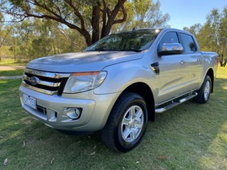 2013 Ford Ranger PX XLT Silver Sports Automatic Utility