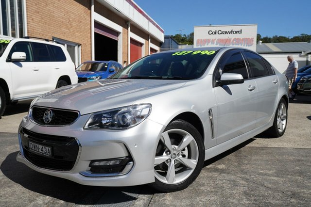 Used Holden Commodore VF II MY16 SV6 Narrabeen, 2016 Holden Commodore VF II MY16 SV6 Silver 6 Speed Sports Automatic Sedan