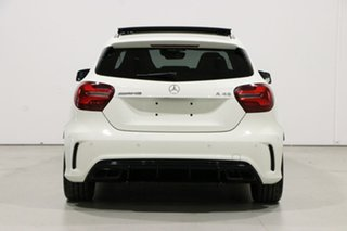 2017 Mercedes-AMG A 45 176 MY17 4Matic White 7 Speed Auto Dual Clutch Hatchback