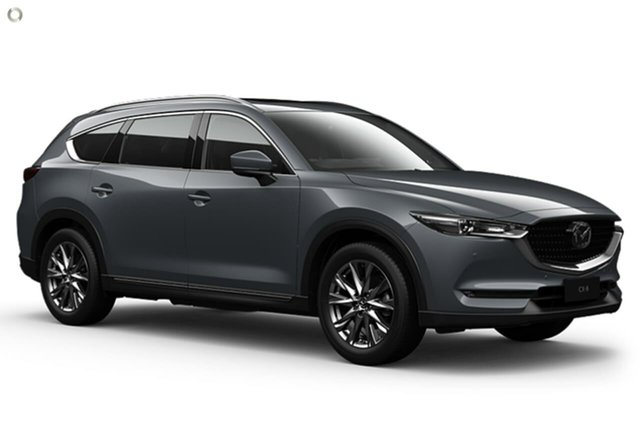New Mazda CX-8 KG4W2A GT SKYACTIV-Drive i-ACTIV AWD East Maitland, 2021 Mazda CX-8 KG4W2A GT SKYACTIV-Drive i-ACTIV AWD Grey 6 Speed Sports Automatic Wagon