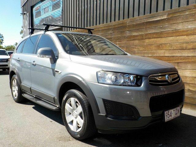 Used Holden Captiva CG MY14 7 LS Labrador, 2014 Holden Captiva CG MY14 7 LS Grey 6 Speed Sports Automatic Wagon