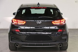 2021 Hyundai i30 PD.V4 MY21 N Line D-CT Black 7 Speed Sports Automatic Dual Clutch Hatchback.