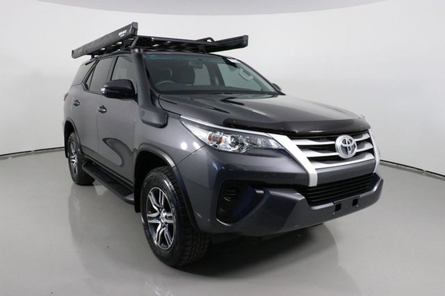 Used Toyota Fortuner GUN156R GX Bentley, 2019 Toyota Fortuner GUN156R GX Grey 6 Speed Electronic Automatic Wagon