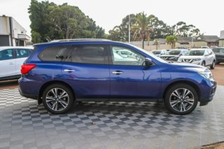 2020 Nissan Pathfinder R52 Series III MY19 Ti X-tronic 2WD Caspian Blue 1 Speed Constant Variable.