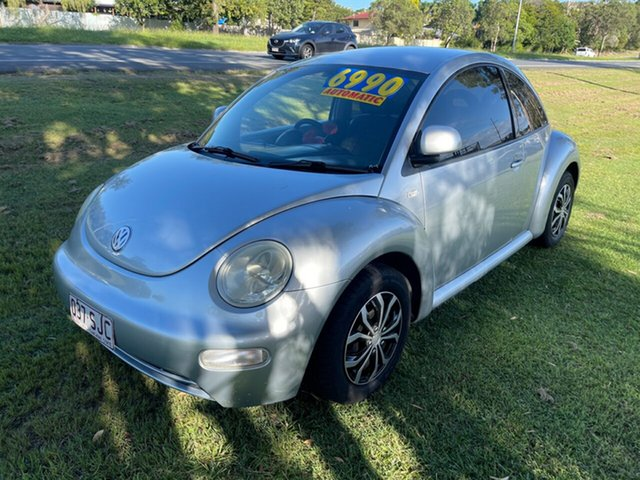 Used Volkswagen Beetle 9C Coupe Clontarf, 2001 Volkswagen Beetle 9C Coupe Silver 4 Speed Automatic Liftback