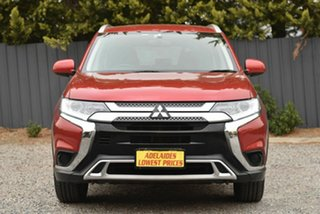 2018 Mitsubishi Outlander ZL MY18.5 ES 2WD Red 6 Speed Constant Variable Wagon.