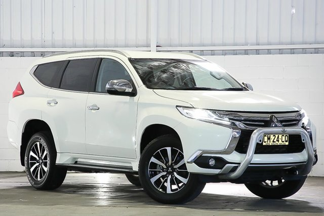 Used Mitsubishi Pajero Sport QE MY17 GLX West Gosford, 2017 Mitsubishi Pajero Sport QE MY17 GLX White 8 Speed Sports Automatic Wagon