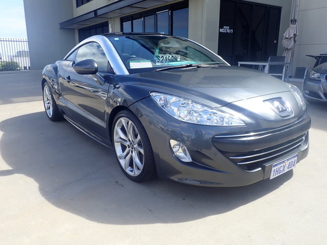 Used Peugeot RCZ Turbo Diesel Wangara, Peugeot RCZ Turbo Diesel Lava Grey 6 Speed Manual Coupe