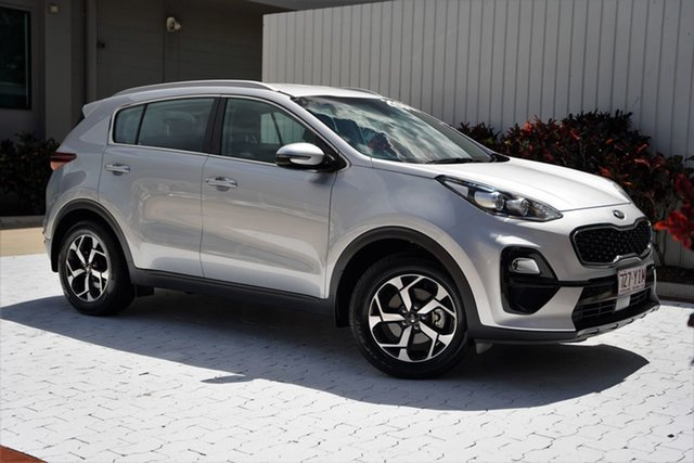 Used Kia Sportage QL MY18 Si 2WD Cairns, 2018 Kia Sportage QL MY18 Si 2WD Silver 6 Speed Sports Automatic Wagon