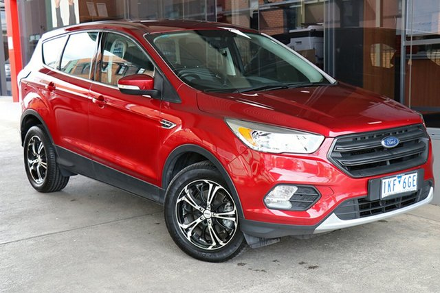 Pre-Owned Ford Escape ZG Ambiente Preston, 2017 Ford Escape ZG Ambiente Red 6 Speed Sports Automatic SUV