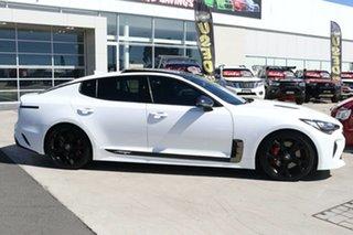 2017 Kia Stinger CK MY18 GT Fastback Snow White Pearl 8 Speed Sports Automatic Sedan.