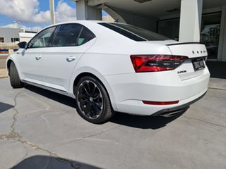 2020 Skoda Superb NP MY21 206TSI Sedan DSG SportLine Moon White 6 Speed Sports Automatic Dual Clutch