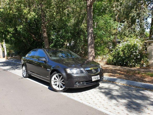 Pre-Owned Holden Calais VE II MY12 V Hawthorn, 2012 Holden Calais VE II MY12 V Black 6 Speed Sports Automatic Sedan