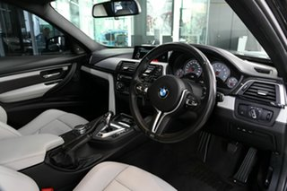 2016 BMW M3 F80 LCI Competition M-DCT Black 7 Speed Auto Sportshift Sedan.