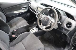 2016 Toyota Yaris NCP131R SX Black 4 Speed Automatic Hatchback