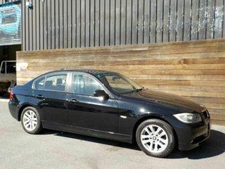 2007 BMW 3 Series E90 320i Steptronic Executive Black 6 Speed Automatic Sedan.