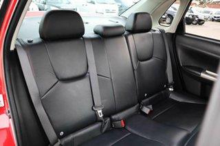 2009 Subaru Impreza G3 MY09 WRX AWD Red 5 Speed Manual Sedan