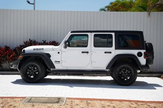 2020 Jeep Wrangler JL MY21 Unlimited Willys Bright White 8 Speed Automatic Hardtop