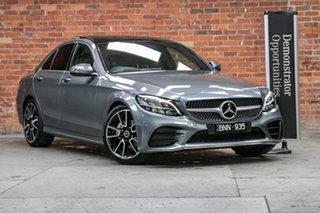 2021 Mercedes-Benz C-Class W205 801MY C200 9G-Tronic Selenite Grey 9 Speed Sports Automatic Sedan.