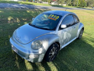 2001 Volkswagen Beetle 9C Coupe Silver 4 Speed Automatic Liftback.