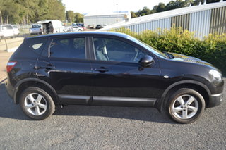2012 Nissan Dualis J10 Series II MY2010 ST Hatch X-tronic Black 6 Speed Constant Variable Hatchback