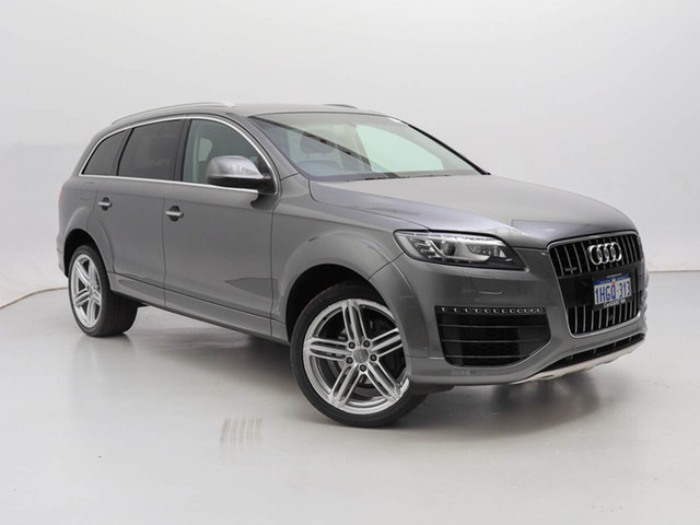 Used Audi Q7 MY15 3.0 TDI Quattro, 2015 Audi Q7 MY15 3.0 TDI Quattro Grey 8 Speed Automatic Tiptronic Wagon