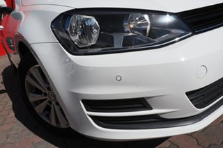 2015 Volkswagen Golf VII MY15 90TSI DSG Comfortline White 7 Speed Sports Automatic Dual Clutch