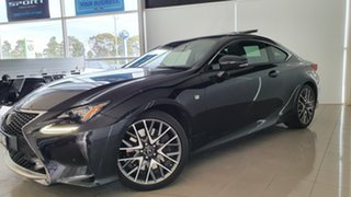 2017 Lexus RC GSC10R RC350 F Sport Black 8 Speed Sports Automatic Coupe.