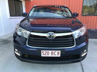 2014 Toyota Kluger GSU55R Grande AWD Blue 6 Speed Sports Automatic Wagon.