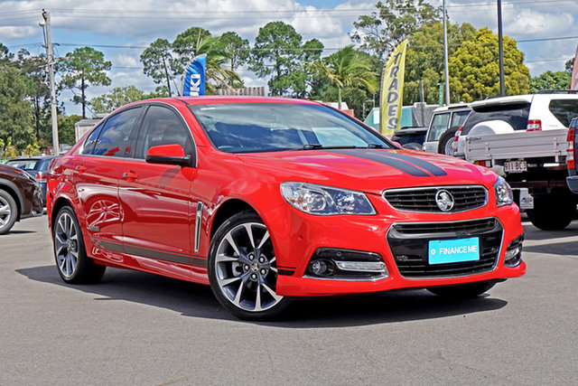 Used Holden Commodore VF MY15 SS V Chandler, 2015 Holden Commodore VF MY15 SS V Red 6 Speed Manual Sedan